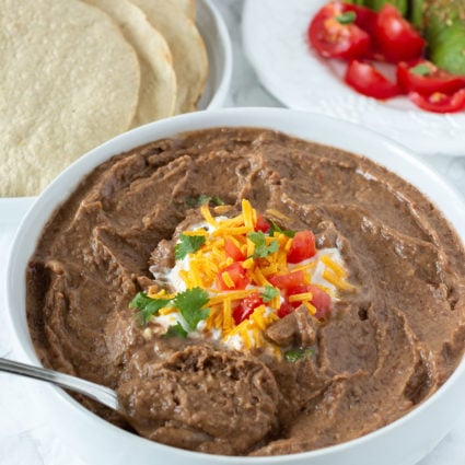 Easy Refried Beans (Frijoles Refritos)