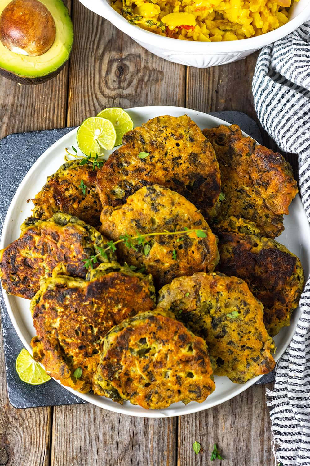 jamaican callaloo fritters  healthier steps