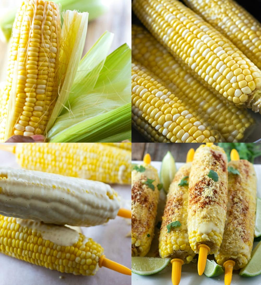 steps for making mexican street corn