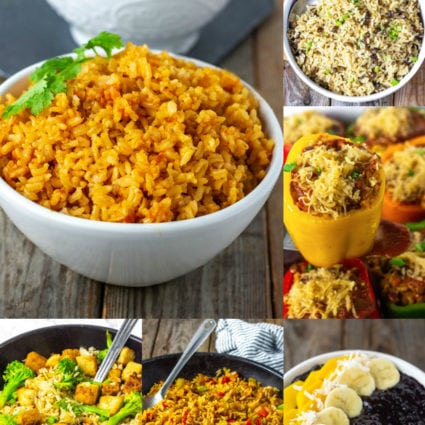 Vegan Rice Recipes