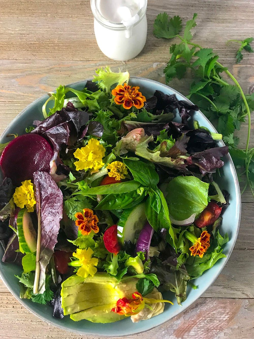 Spring Mix Salad Recipe Healthier Steps