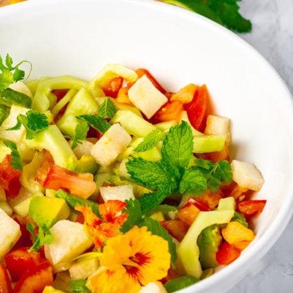 Jicama Cucumber Salad