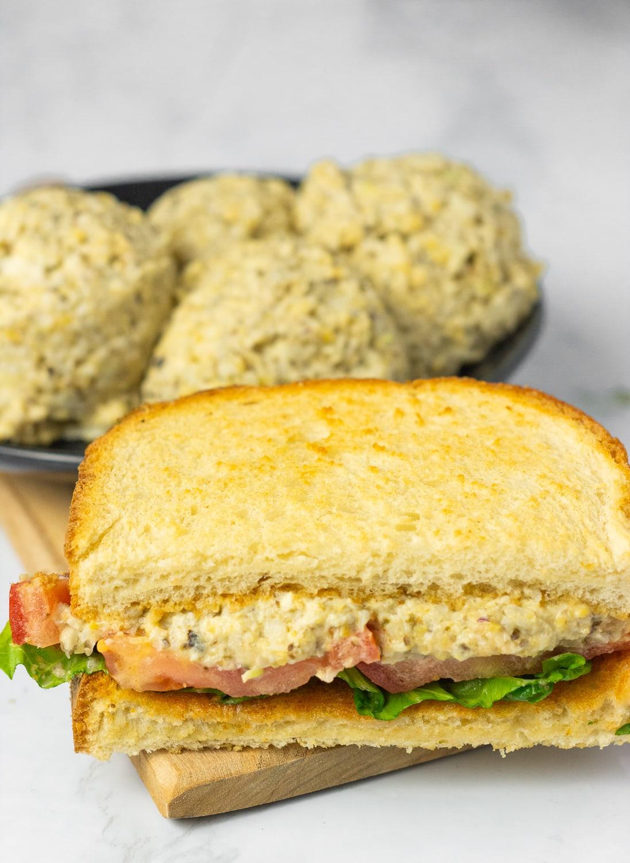 vegan tuna sandwiches recipe