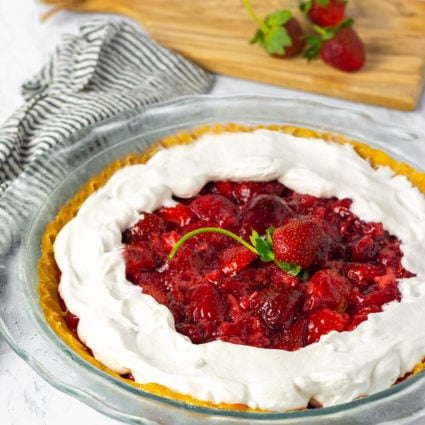 Vegan Strawberry Pie