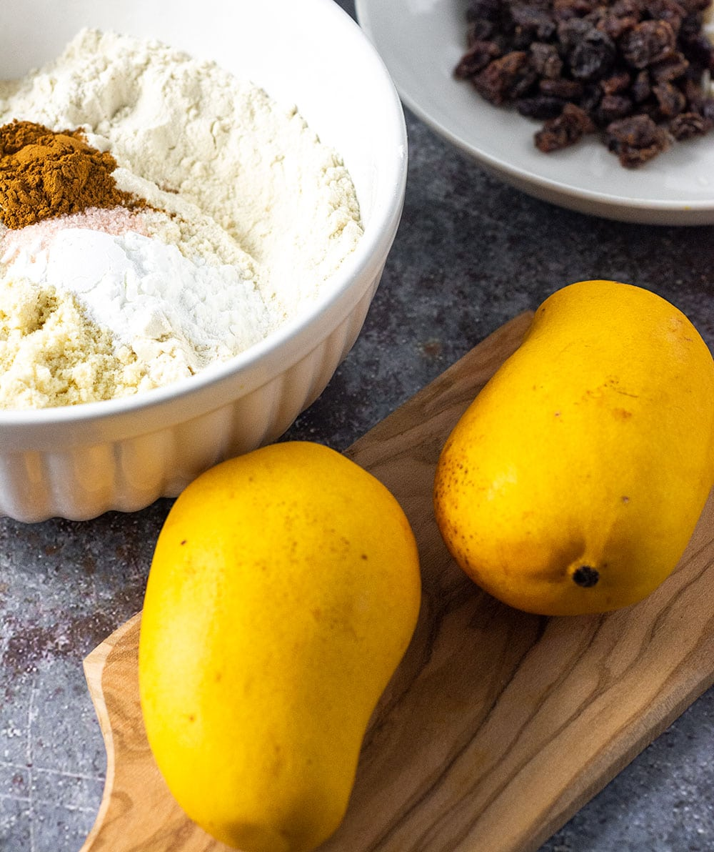 Ingredients for Mango Bread
