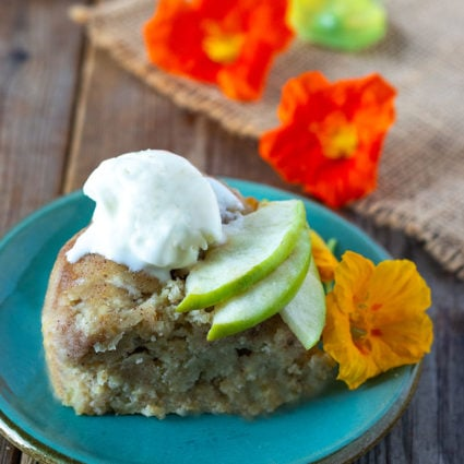 Instant Pot Vegan Apple Cake