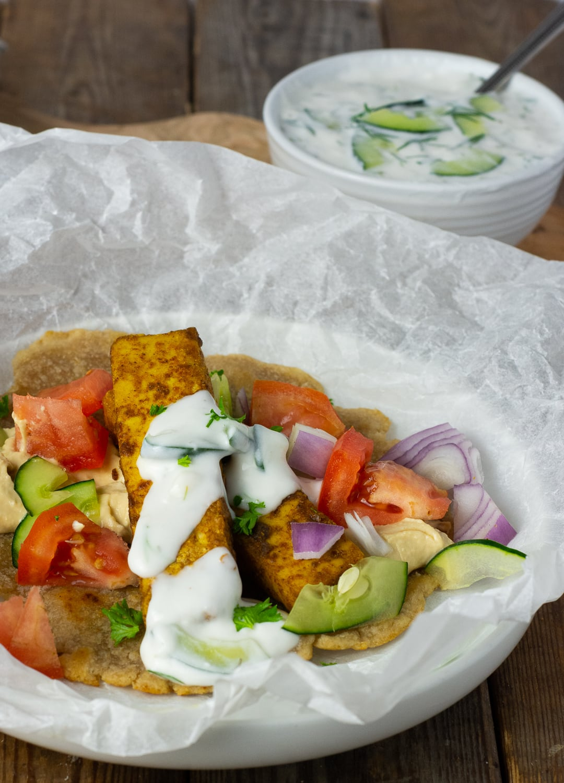 Shawarma Tofu
