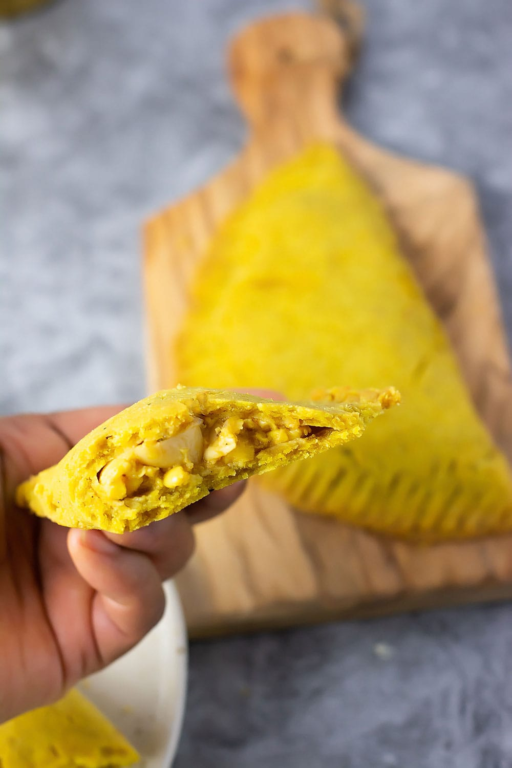 Jamaican Ackee Patty