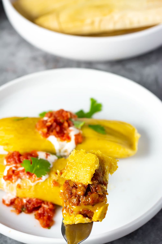 vegan tamales  healthier steps