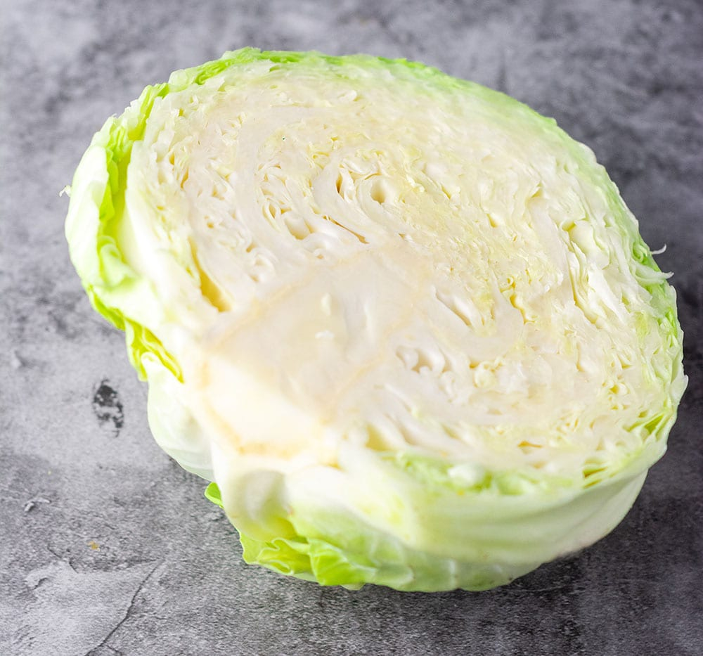 Cabbage for cabbage and sausage