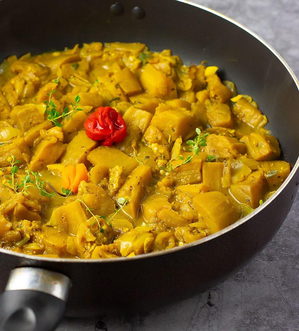 Eggplant Curry vegan