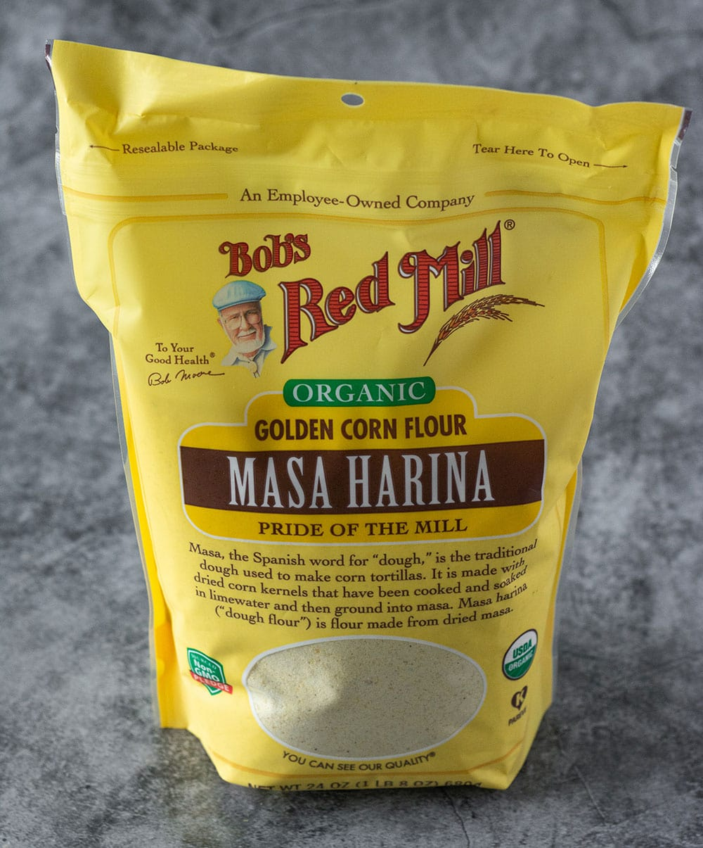 masa harina for making pupusa. bob's red mills brand