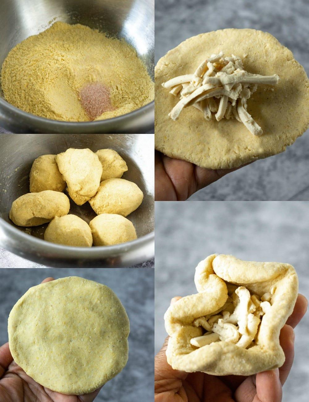 step by step pupusa recipe photos
