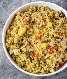 Overlay Jamaican Seasoned Rice