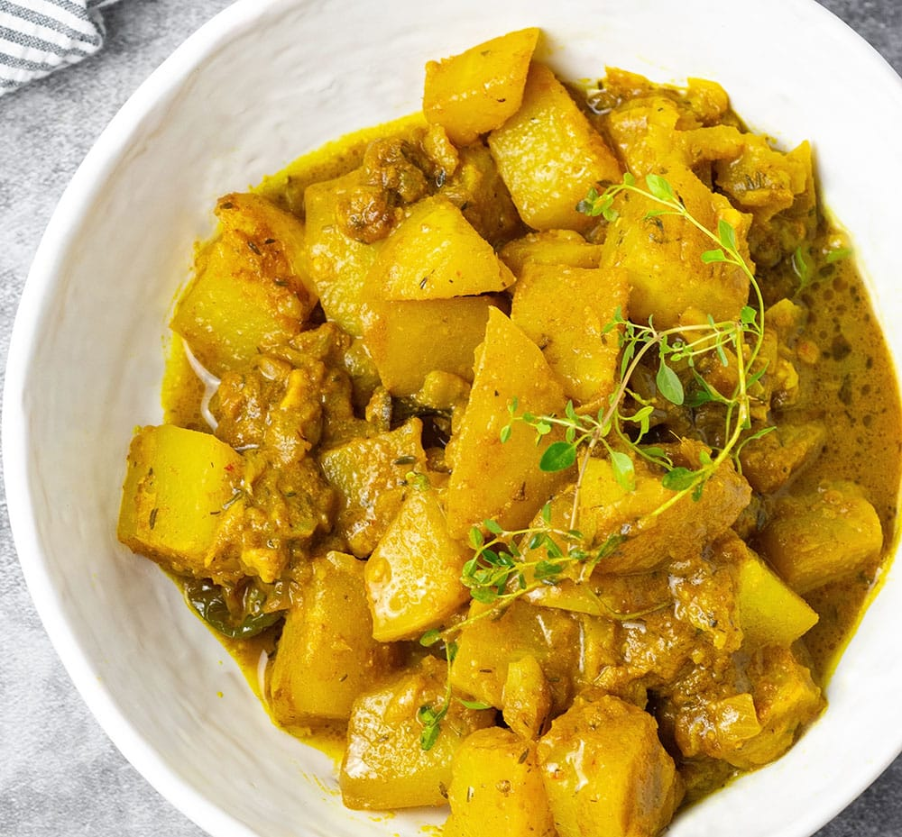 Jamaican Chocho (Chayote) Curry
