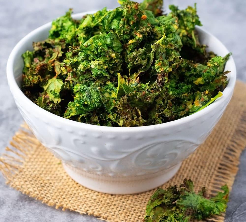 kale chip recipe in air fryer Air Fryer Kale Chips