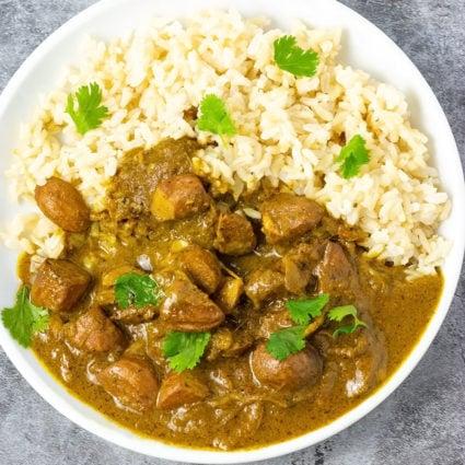 Curry Chataigne (Breadnut)