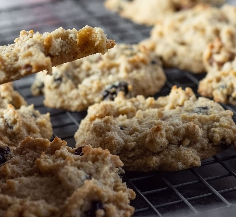baked-persimmon cookies
