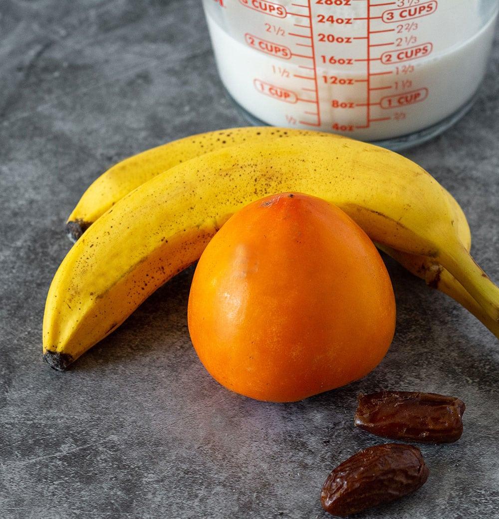 persimmon smoothie ingredients