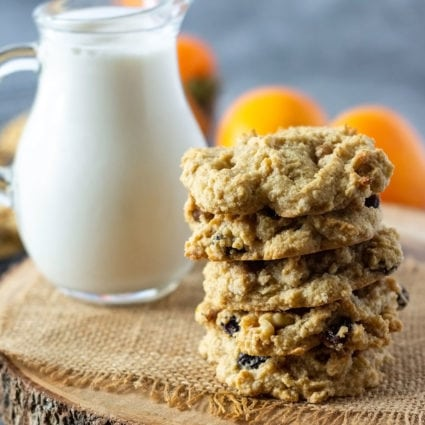Vegan Persimmon Cookies