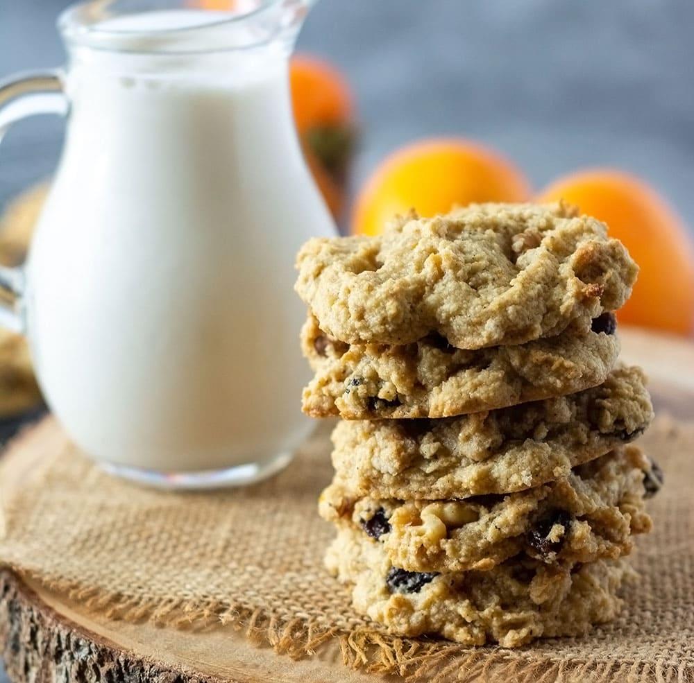 Vegan Persimmon Cookies