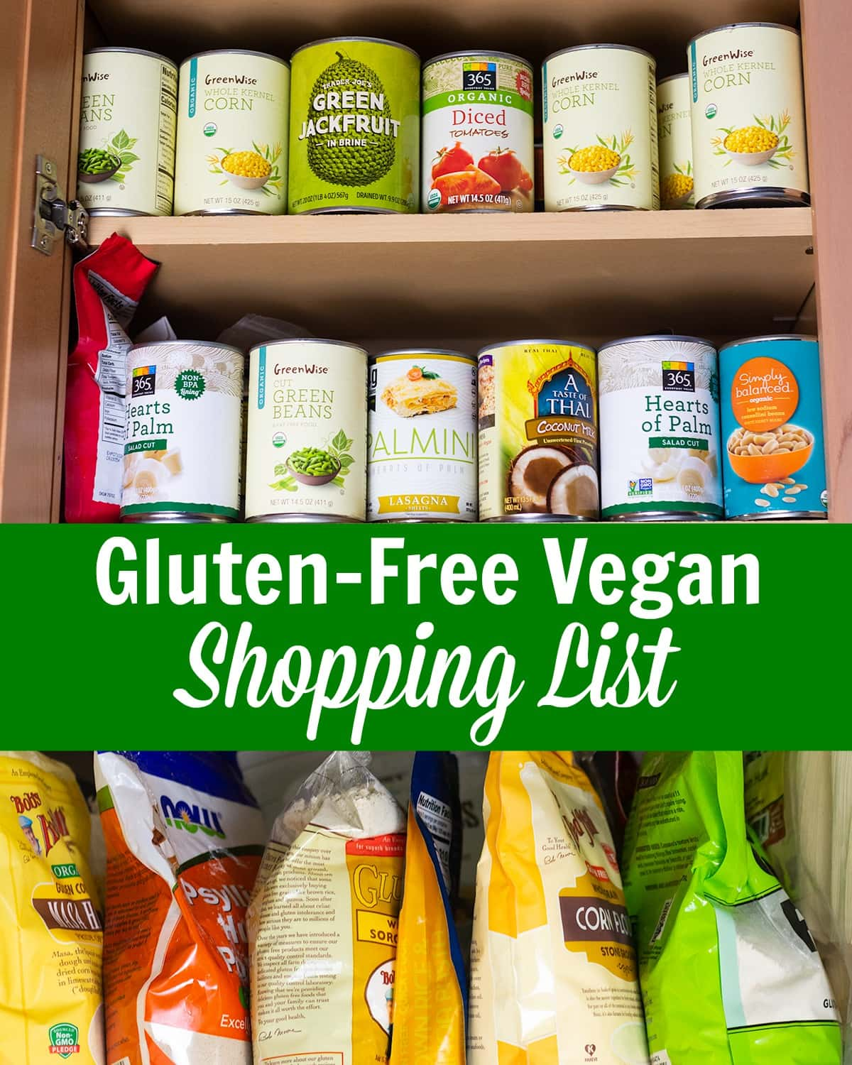 Gluten-Free Vegan Shopping List