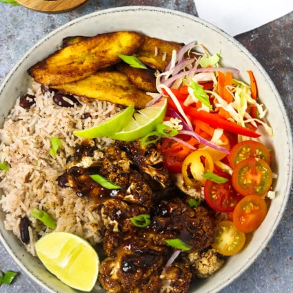 Jamaican Jerk Cauliflower Bowl