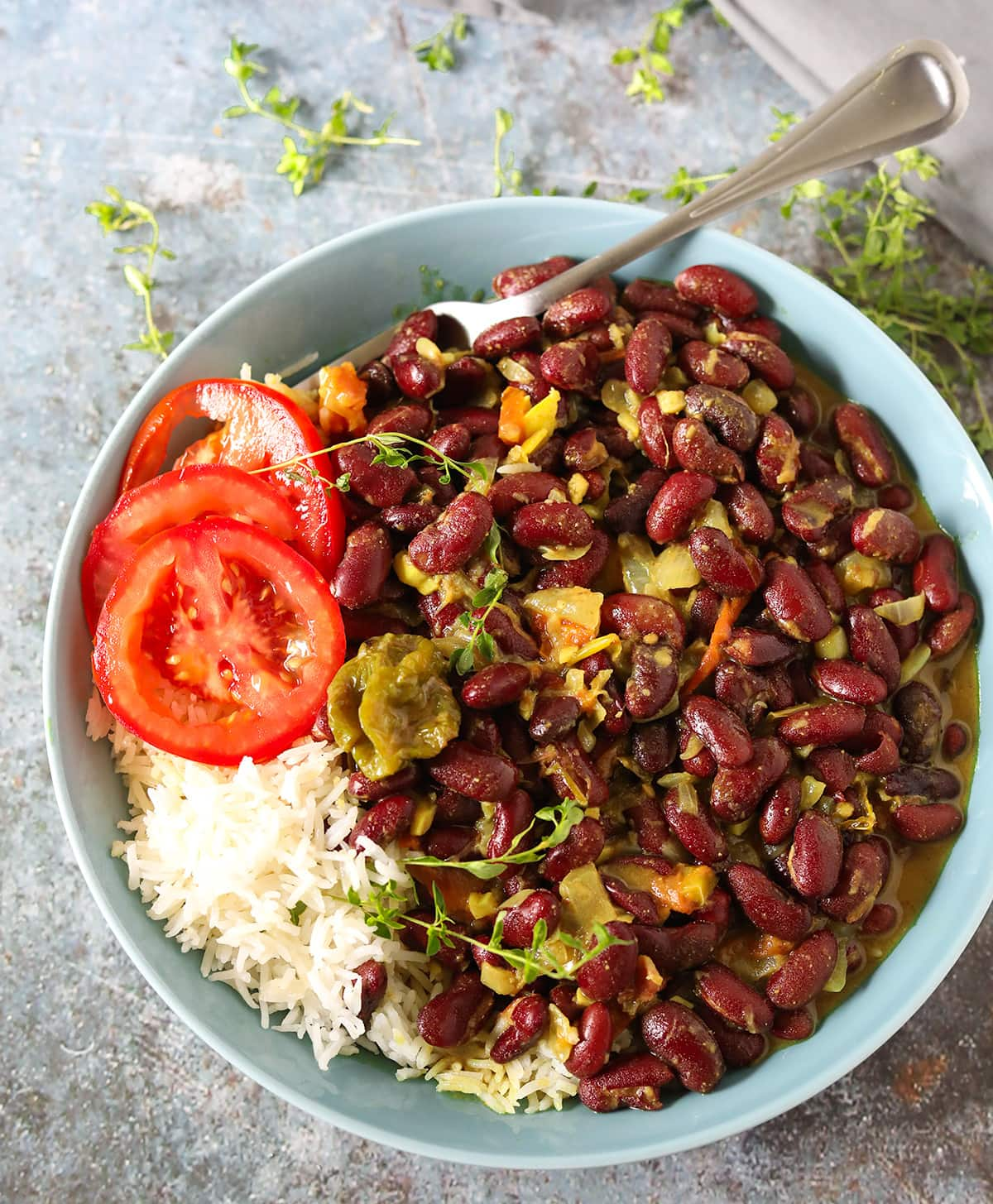 Kidney Bean Curry (Jamaican-Style)