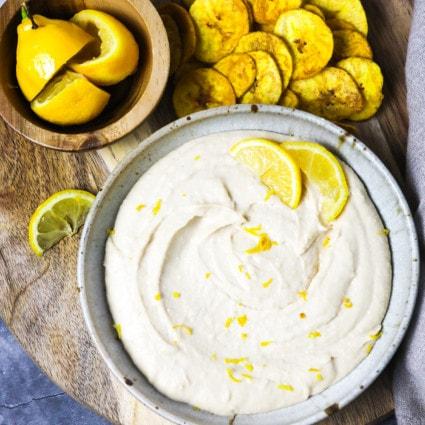 Butter Bean Lemon Hummus