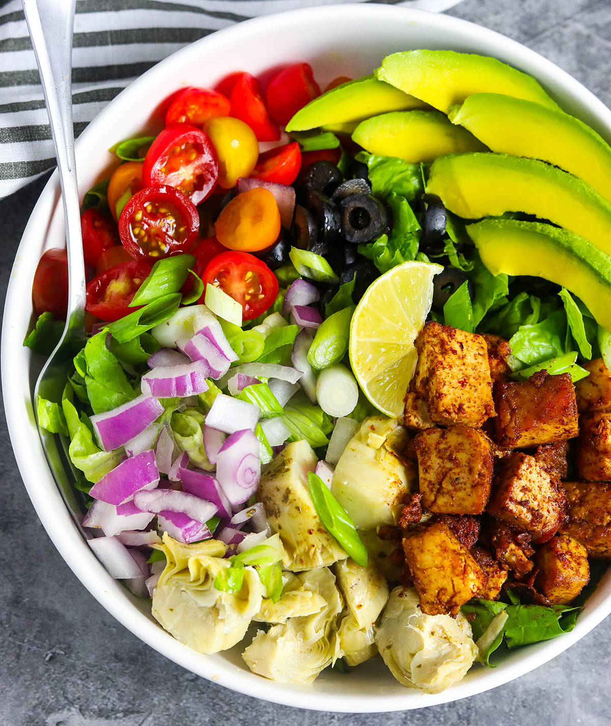 Cajun Tofu Salad Recipe