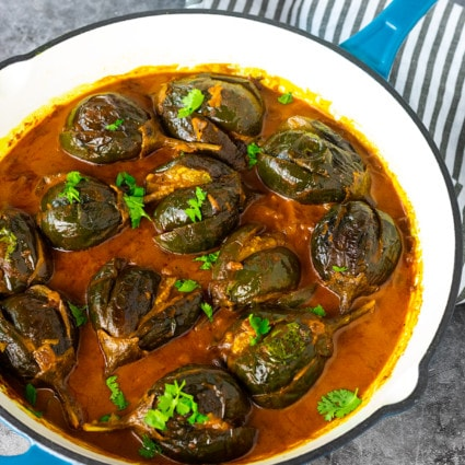 Baby Eggplant Coconut Curry