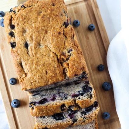 Gluten-Free Vegan Blueberry Banana Bread
