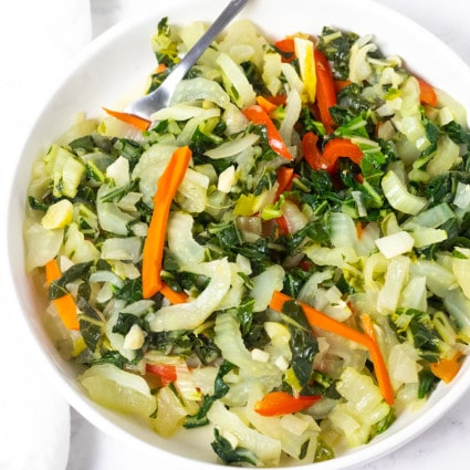 Jamaican Bok Choy Recipe
