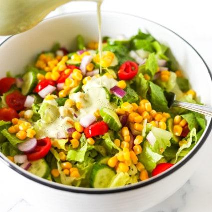 Vegan Tarragon Salad Dressing