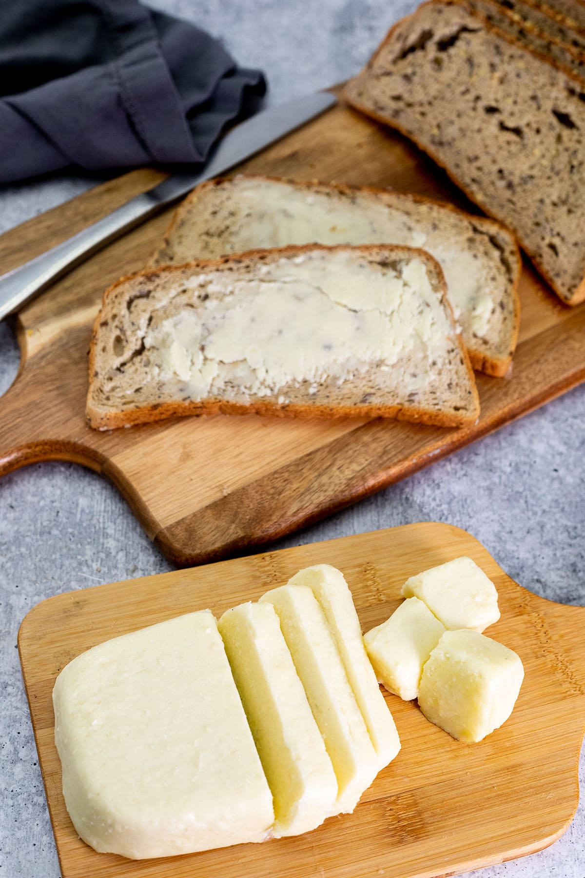Vegan Butter Healthier Steps Coconut oil is just the oil extracted from the coconut where as coconut butter is the whole coconut ground up into a butter. vegan butter