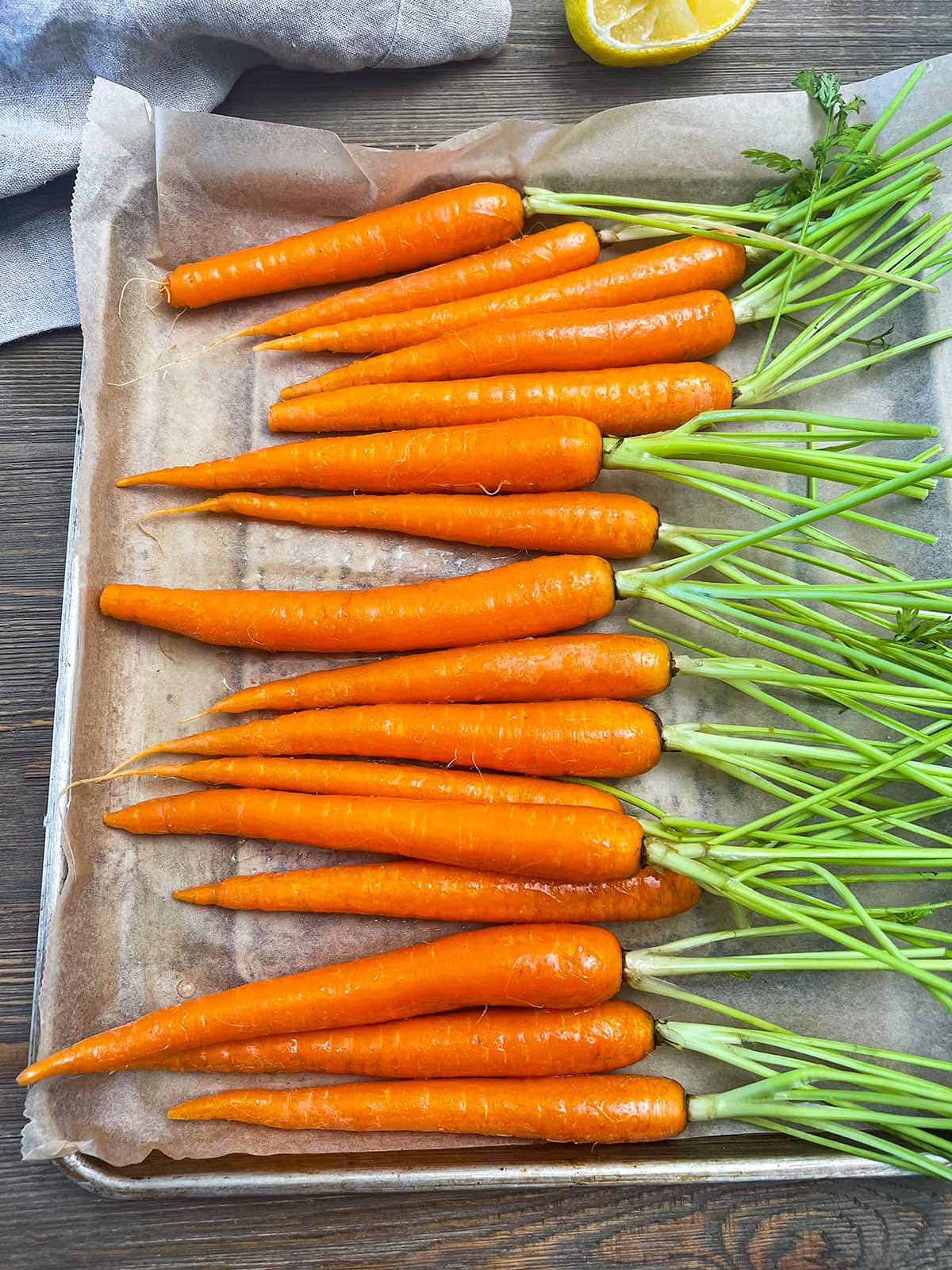 carrots in the air fryer sheet