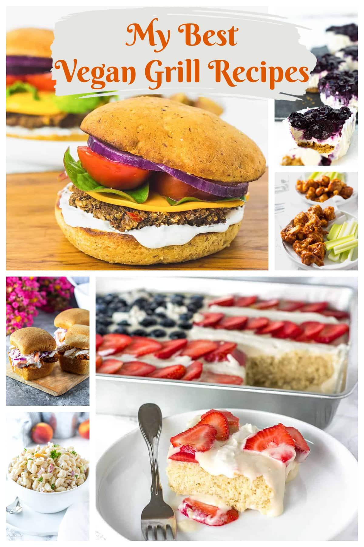 My Best Vegan Grill Recipes