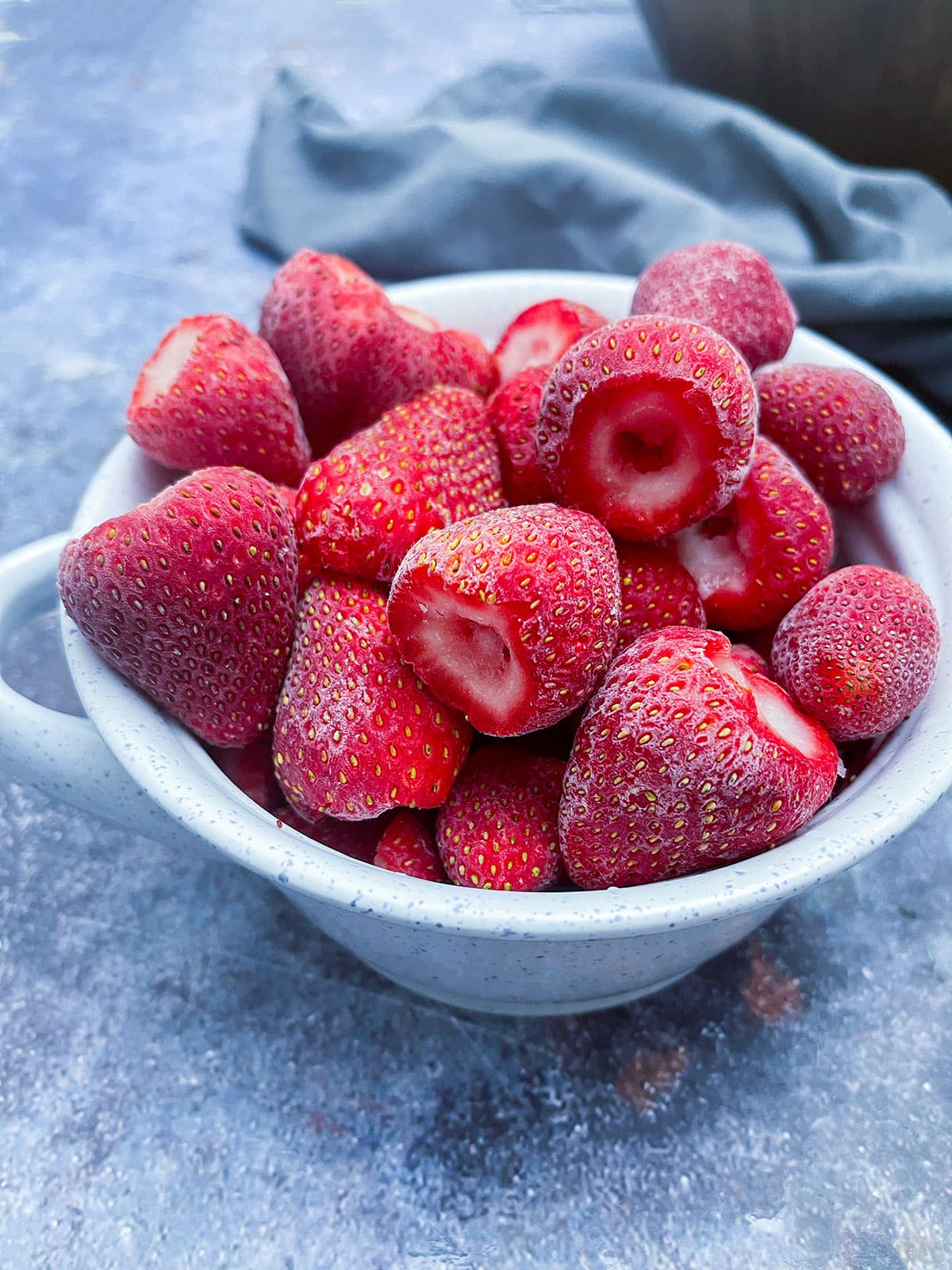 How To Freeze Strawberries