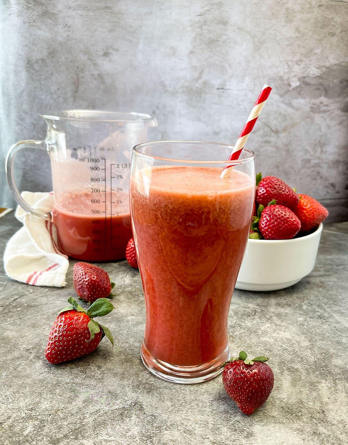 Strawberry Acai Lemonade