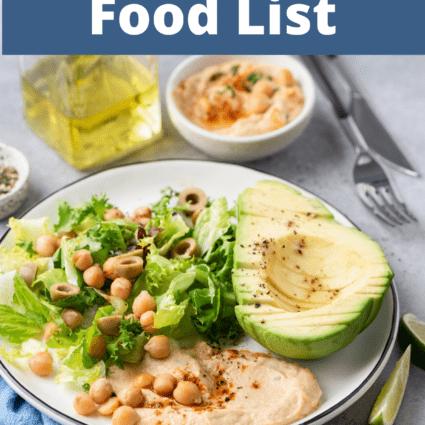Dr. Sebi Food List