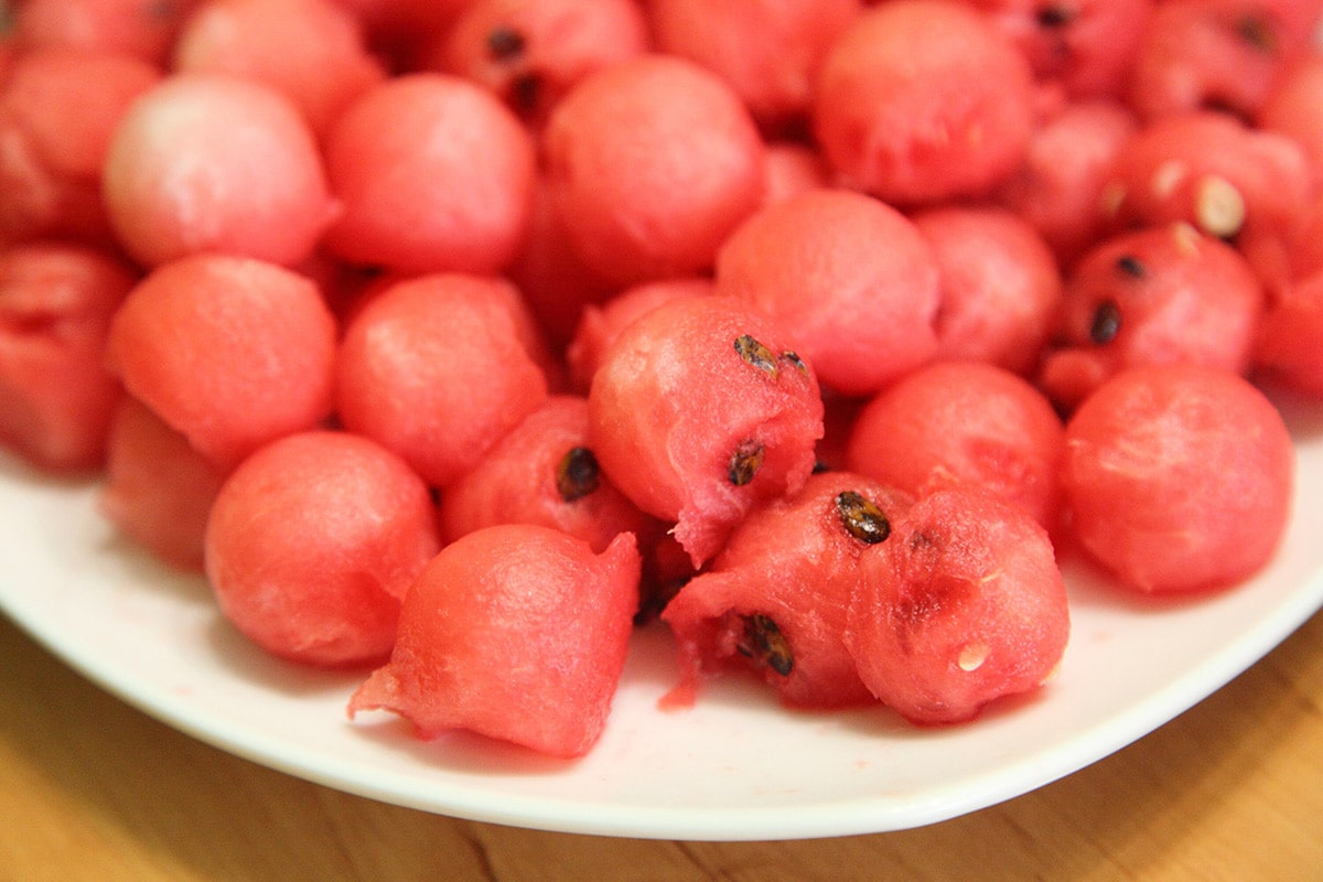 watermelon balls