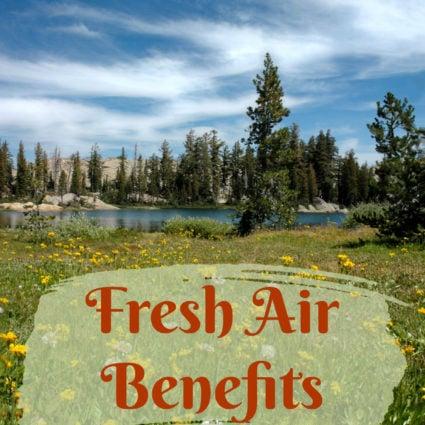 Fresh Air Benefits