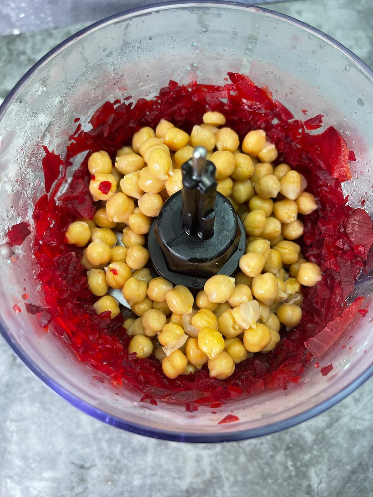 beet hummus ingredients