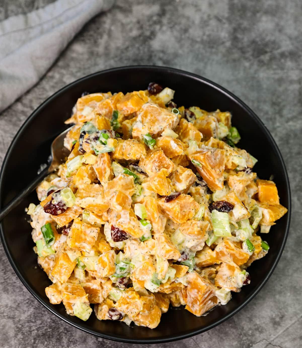 Vegan Sweet Potato Salad